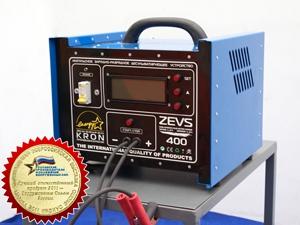 Автоматическое зарядное устройство в котором благодаря импульсной технологии.