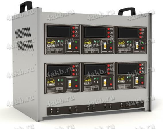 Импульсное десульфатирующее цифровое зарядно-разрядное устройство ЗРД-А-6.