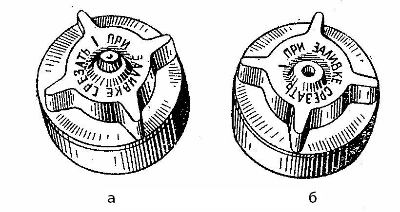 Полиэтиленовая пробка с глухим выступом