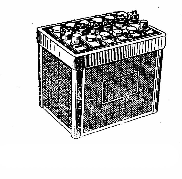 Автомобильная аккумуляторная батарея 6СТ-45. Общий вид