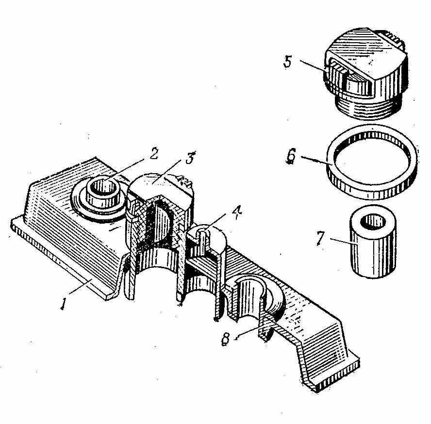 Крышка аккумулятора с автоматическим ограничением уровня электролита