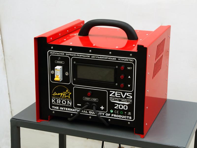 Десульфатирующее зарядное устройство.