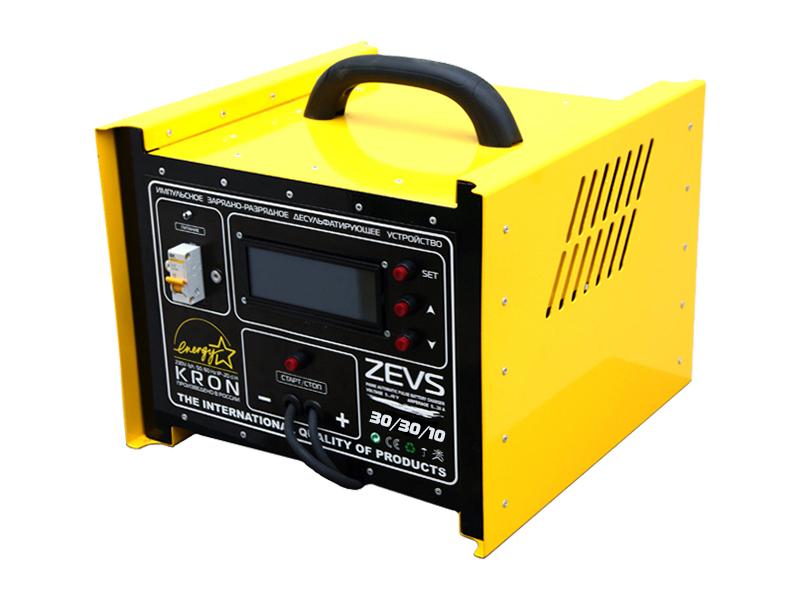 Импульсное автоматическое зарядное устройство схема.