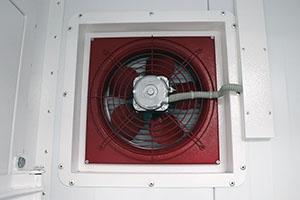 Фотография вентиляции аккумуляторной мастерской