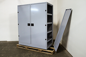 Сборно-разборная конструкция батарейного шкафа