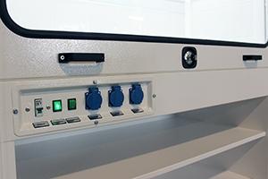 Фото панели управления шкафа ШВ-000