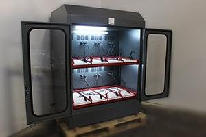 Фото шкафа серии Светоч-02-08 в открытом виде