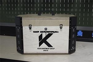 Фотография комплекта аккумуляторщика K-201 общий вид