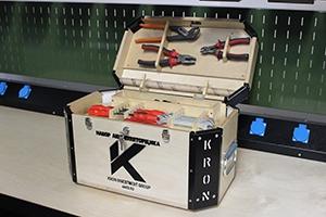 Комплект аккумуляторщика в открытом виде