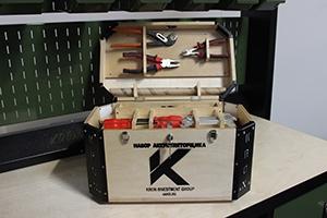 Фото комплекта аккумуляторщика К-201