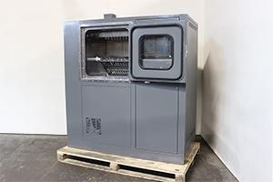Машина мойки щелочных аккумуляторов ММЩ-3 вид сбоку