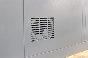 Фото металлической решетки вентиляции