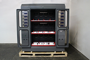 Металлический шкаф Светоч 03-12 вид спереди