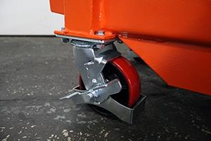 Фотография комплекта колес установленных на тележку 05.Т.034.02-9.007