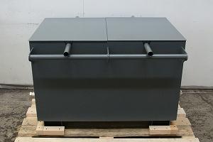 Металлическая ванна для охлаждения деталей