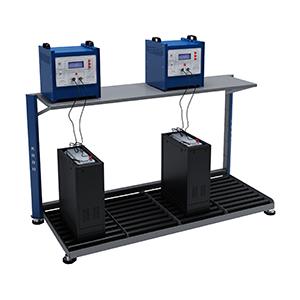 Роликовый стол для зарядки тяговых батарей
