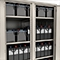 Аккумуляторные шкафы имеют регулируемые по высоте полки