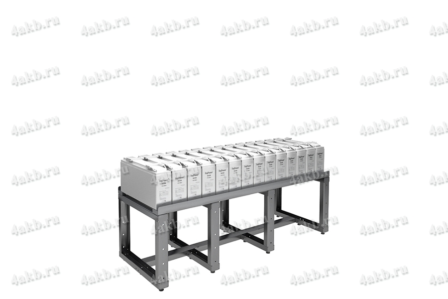 Аккумуляторный стеллаж для размещения фронттерминальных акб