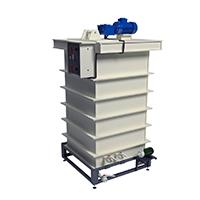 Установка для приготовления и дозирования кислотного электролита