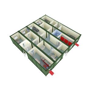 Зарядная аккумуляторная станция КРОН-ЗАС на базе пяти 12-ти метровых блок-контейнеров