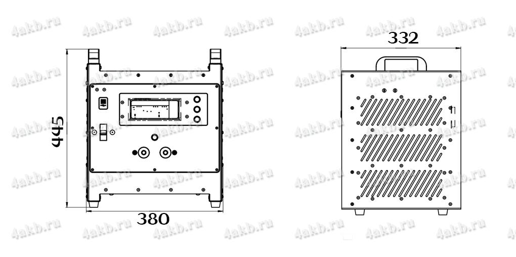 Чертеж импульсного зарядно-разрядного устройства серии ЗEВС-АВИА
