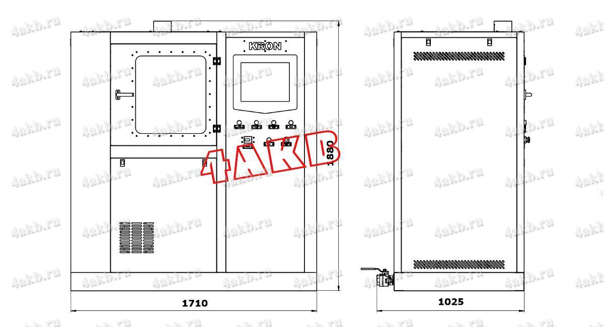 Машина для мойки щелочных аккумуляторов ММЩ-3 Чертеж