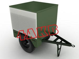 Передвижная универсальная зарядная электростанция. Для удобства различные отсеки контейнера имеют отдельные ролл-двери, фото 7