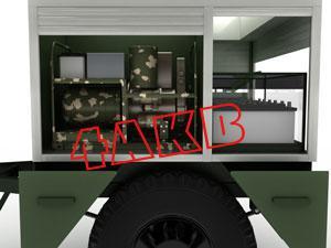 Передвижная универсальная зарядная электростанция оснащена отдельным отсеком, в котором расположен дизельгенератор, фото 9