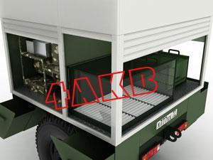 Контейнер оснащён встроенным зарядным шкафом для АКБ и КЗО (комплект зарядный однофазный), фото 11