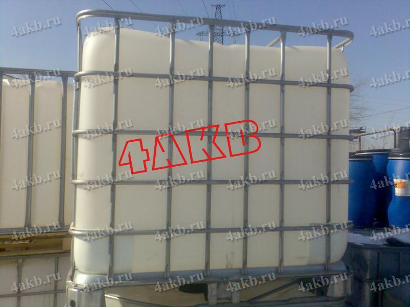 Кубовая емкость для транспортировки и хранения электролита, кислоты, щелочи