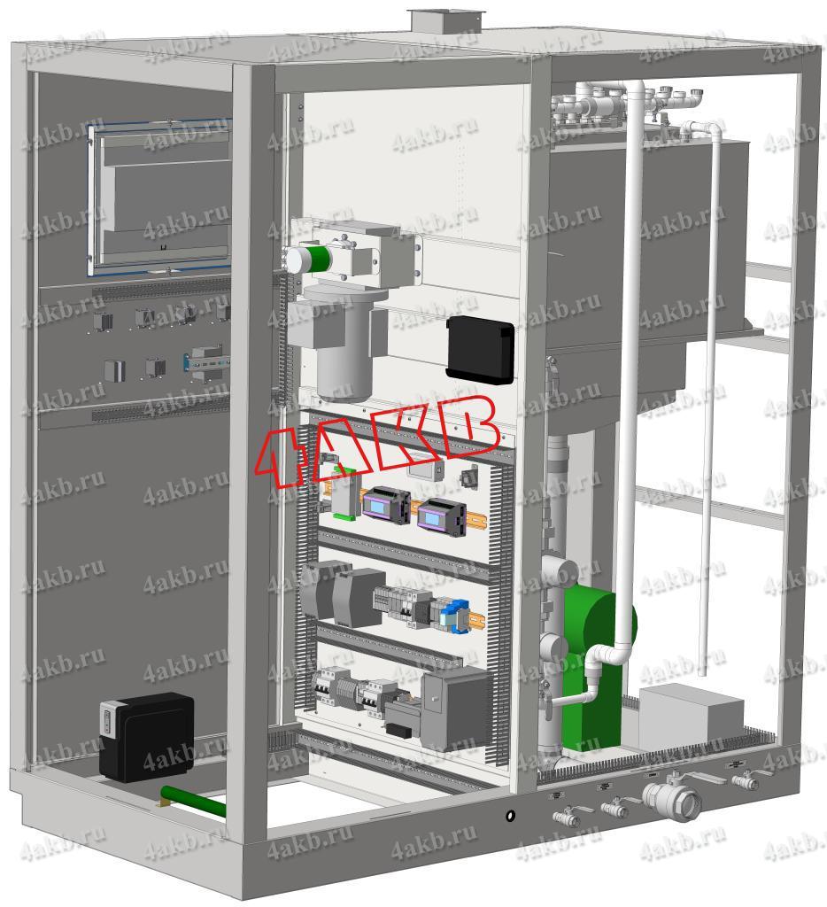 Шкаф автоматизированной системы управления