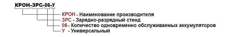 Расшифровка зарядно-разрядных стендов производства компании КРОН