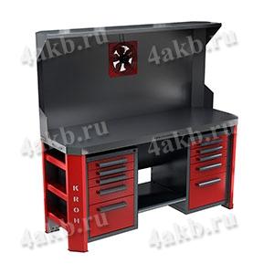 Двухтумбовый стол для ремонта АКБ ООО РМЗ-СДР-505