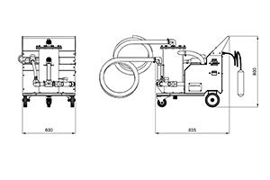 Чертежи установки фильтрации электролитов УФЭ-1