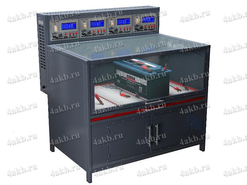 Зарядно-разрядный шкаф серии Светоч-06-04.ЖК