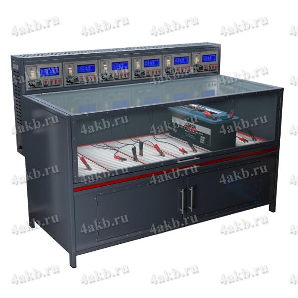 Зарядно-разрядный шкаф серии Светоч-06.ЖК