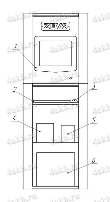 Внешний вид шкаф управления зарядно-разрядного комплекса АЗР-300А-200В