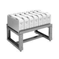 Однорядный аккумуляторный стеллаж серии КРОН-АКС-1