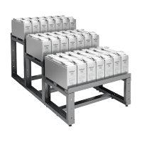 Стеллаж роликовый для хранения АКБ с кислотостойким покрытием 05.Э.078.34.Р.12