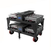 Тележка-стеллаж для хранения и перевозки аккумуляторных батарей 05.Т.042.51.000