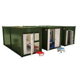 Мобильная аккумуляторная мастерская на базе 3-х кузовов-контейнеров АМ-3К-40
