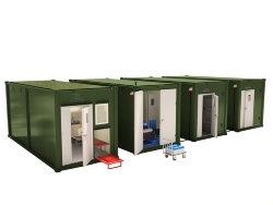 Мобильные аккумуляторные мастерские на базе 4-х кузовов контейнеров АМ-4К-80
