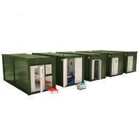 Мобильные аккумуляторные мастерские на базе 5-ти кузовов контейнеров АМ-5К-120