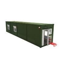 Мобильная аккумуляторная мастерская на базе 1-го кузов-контейнера АМ-1К(13)-16(002)