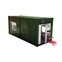 Мобильная аккумуляторная мастерская на базе 1-го кузов-контейнера АМ-1К(6)-8(001)