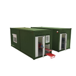 Мобильная аккумуляторная мастерская на базе 2-х кузов-контейнеров АМ-2К(6)-20(001)