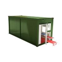 Мобильная аккумуляторная мастерская на базе 1-го кузов-контейнера АМ-1К(6)-8(002)