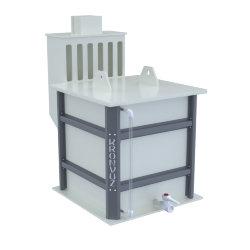 Емкости полипропиленовые для приготовления электролита 9268П-0000003
