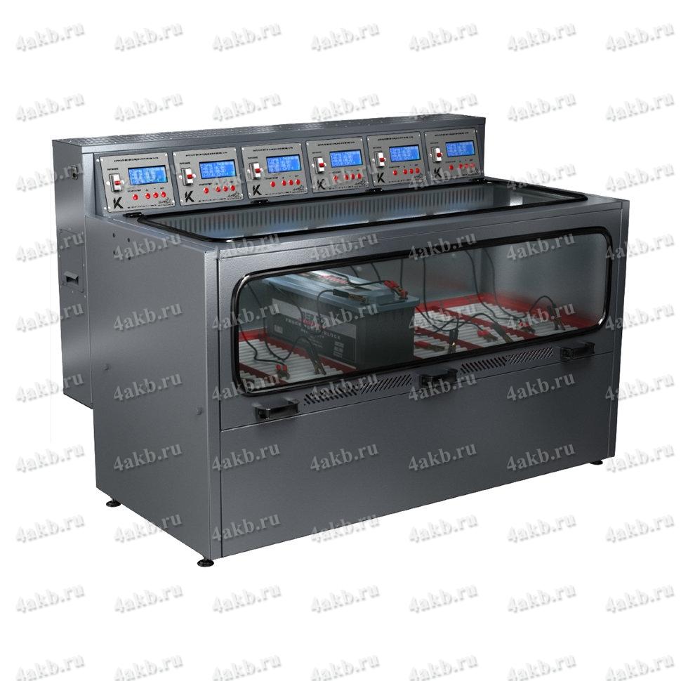 Шкаф для заряда аккумуляторных батарей со встроенным зарядно-разрядным устройством