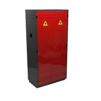 Металлический шкаф для двух кислородных баллонов МШ-К2-01